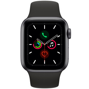 Умные часы Apple Watch Series 5 GPS 44мм Aluminum Case with Sport Band - 40mm, Белый
