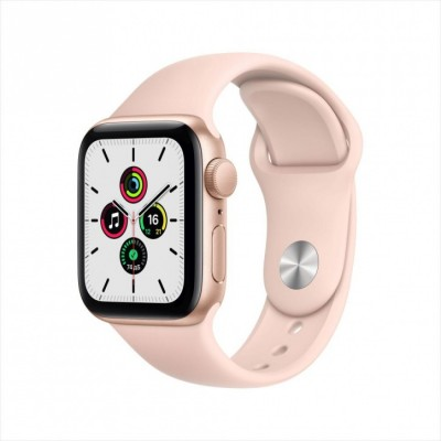 Умные часы Apple Watch SE GPS Aluminum Case with Sport Band - 40mm, Розовый