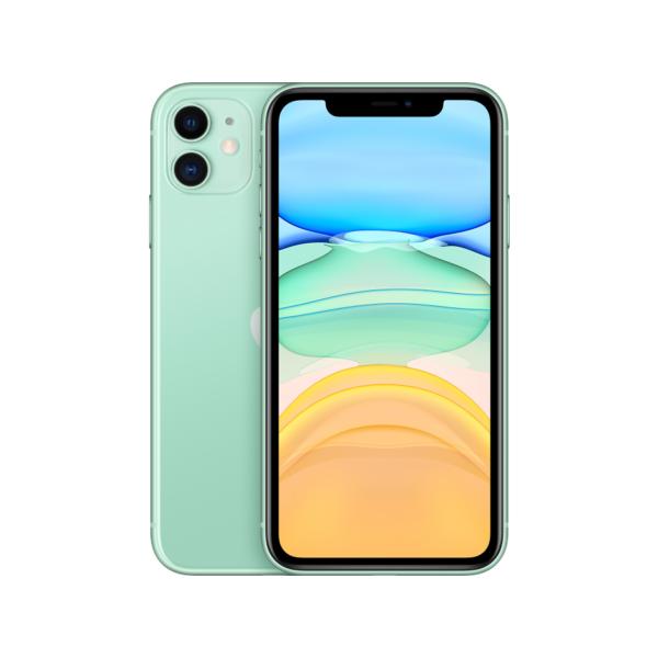 Смартфон Apple iPhone 11 128GB, зеленый, Slimbox, (MHDN3RU/A)