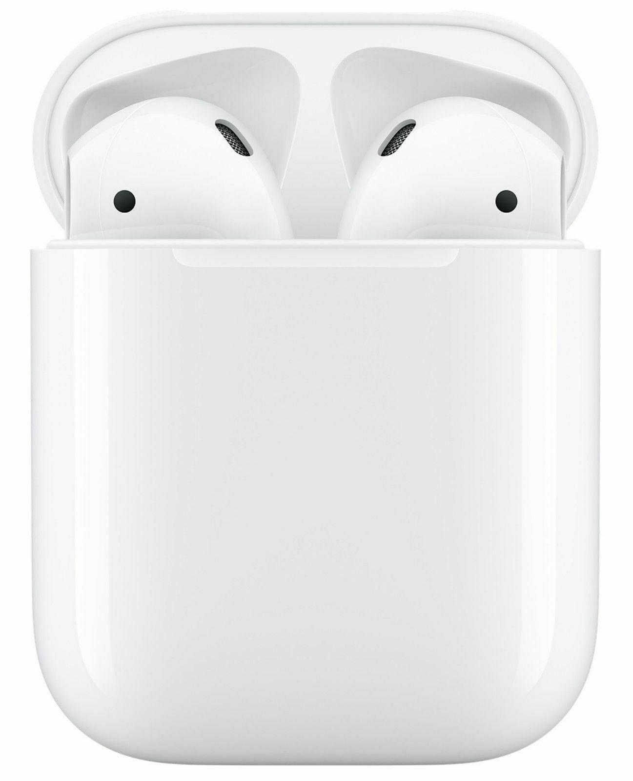 Беспроводные наушники Apple AirPods 2 с зарядным футляром (MV7N2RU/A)