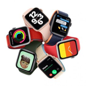 Умные часы Apple Watch SE GPS Aluminum Case with Sport Band