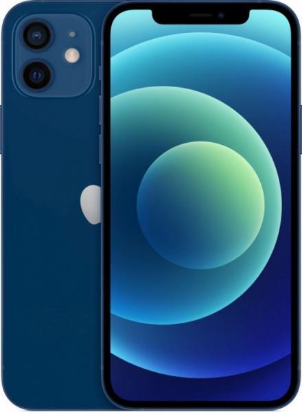 Смартфон Apple iPhone 12 64GB, синий, (MGJ83RU/A)