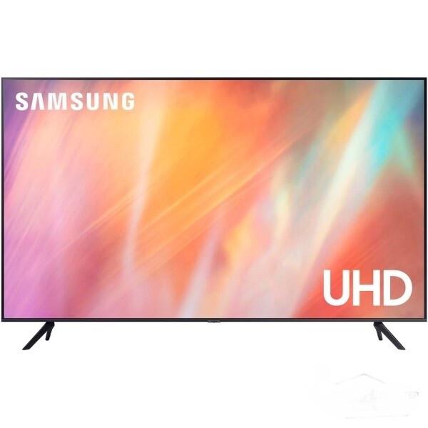 """Телевизор Samsung UE70AU7100U 69.5"""" (2021), черный"""