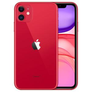 Смартфон Apple iPhone 11 128GB, красный, Slimbox (MHDK3RU/A)