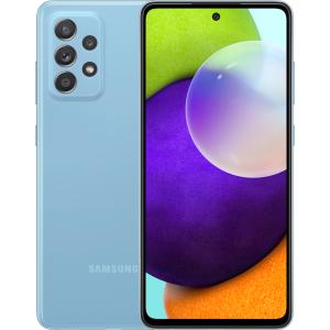 Смартфон Samsung Galaxy A52 4/128Gb, Синий