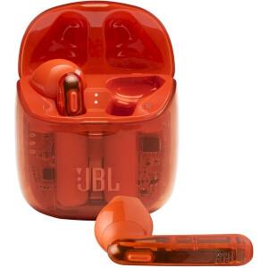 Беспроводные наушники JBL Tune 225TWS Ghost Edition, orange