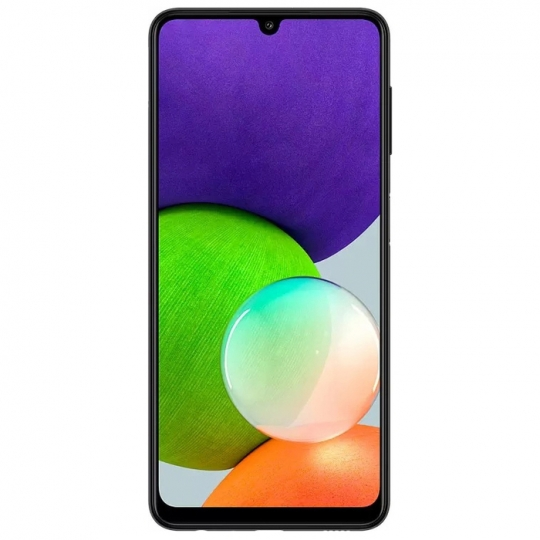 Смартфон Samsung Galaxy A22 4/64GB 4/64 ГБ RU, черный